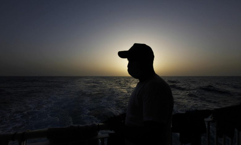 North African migrants, adrift, tell of last-minute rescue