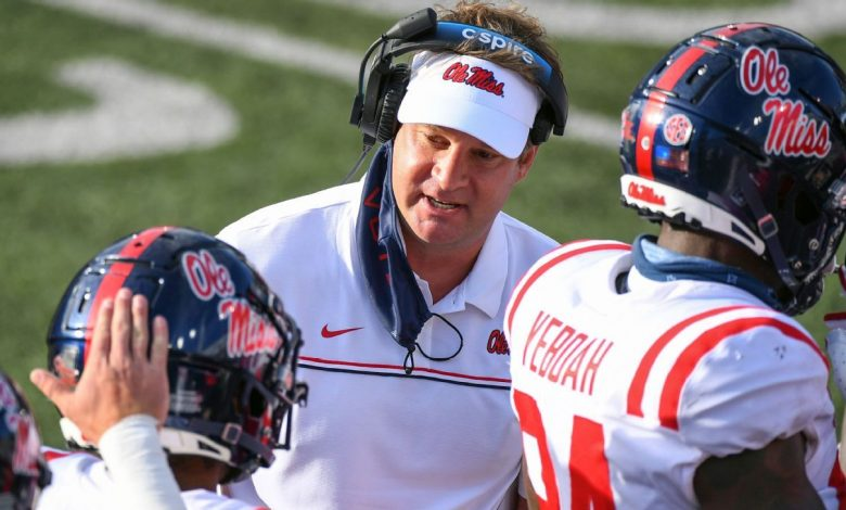 Ole Miss coach Lane Kiffin tests positive for COVID-19, out for opener vs. Louisville