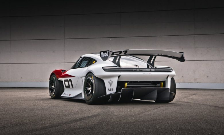 Porsche's Mission R concept is the future of EV racing