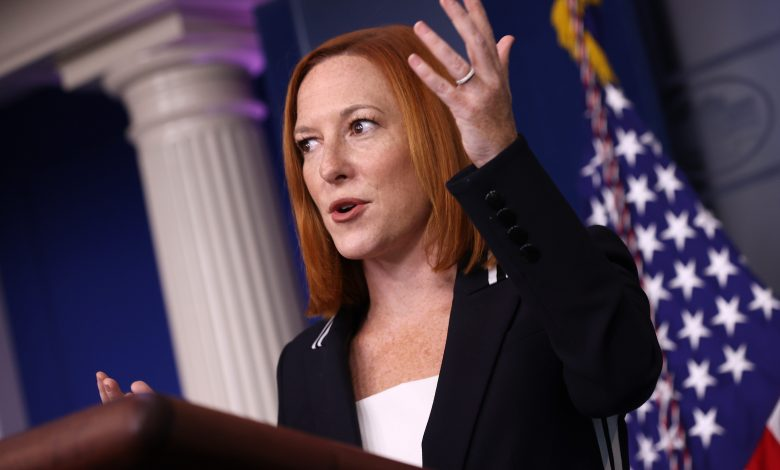 Psaki pushes back on reporter questioning Biden abortion support