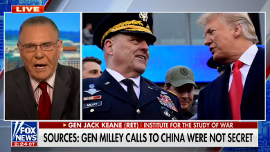 Retired general defends Mark Milley's calls to China on Fox News: 'Being sensationalized'