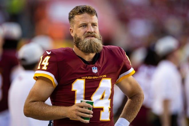 Ryan Fitzpatrick, who has a 59-86-1 record as a starter since being drafted with the 250th overall pick in the 2005 NFL Draft, will be the starter in Washington.