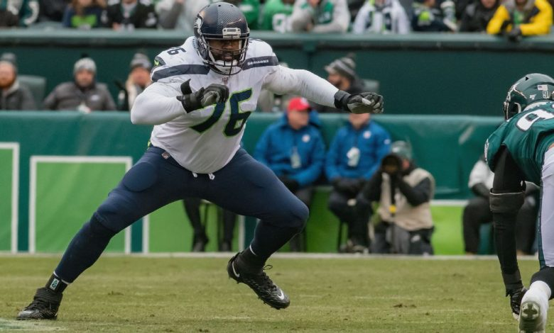 Seattle Seahawks rework final year of LT Duane Brown's contract, sources say