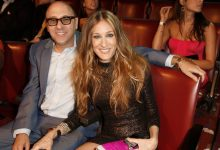 Sarah Jessica Parker, right, and  Willie Garson at the MTV Movie Awards in 2008.