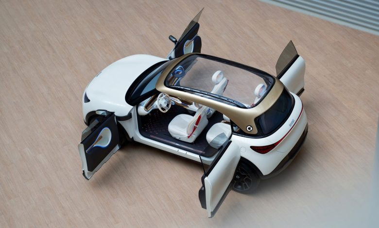Smart Concept #1 is a cute little thing     - Roadshow