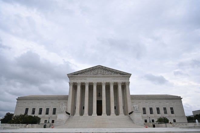 The Supreme Court is seen in Washington, D.C., on September 1, 2021.