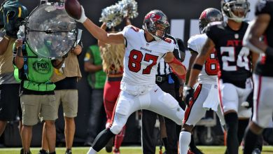 Tampa Bay Buccaneers TE Rob Gronkowski clears the air on his film-watching habits