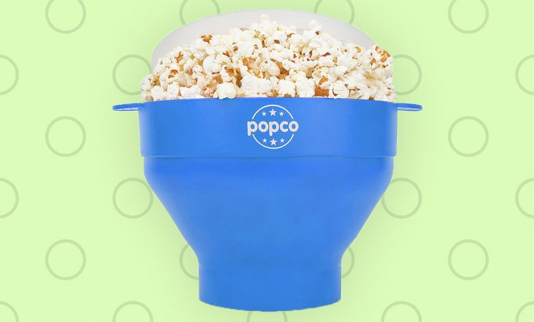 The Popco microwave popper is just $14 at Amazon