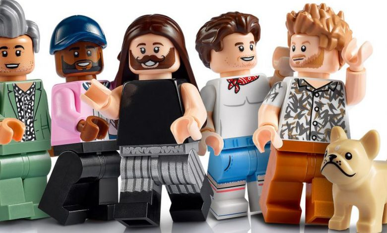 There's a Queer Eye Lego set, and yasss to Fab Five figures too