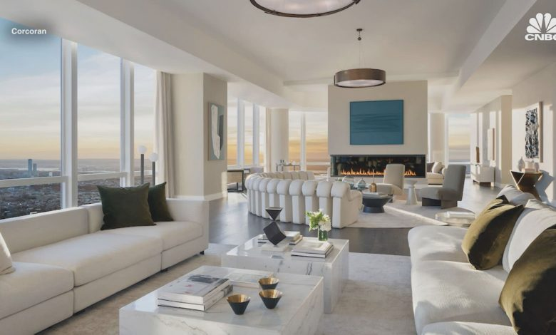 This 90th floor penthouse in Hudson Yards sells for $55 million