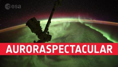 Timelapse Video Made by Astronaut on International Space Station