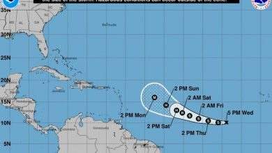 A tropical depression has formed in the Atlantic and could pose an issue for parts of the Caribbean and potentially the U.S.