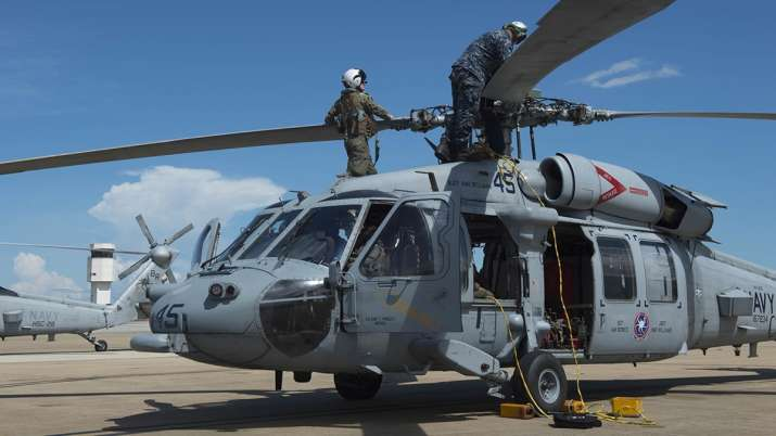 US Navy helicopter crashes off Southern California coast, 5
