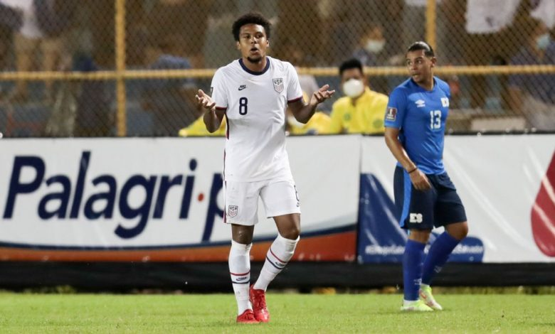 United States' inexperience shows with draw in El Salvador, a faltering start on road to World Cup