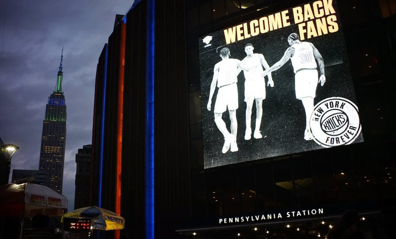 Unvaccinated Knicks, Nets, Warriors players could miss home games
