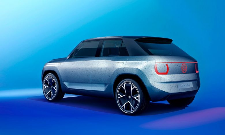 Volkswagen ID Life concept is cool and square in Munich     - Roadshow