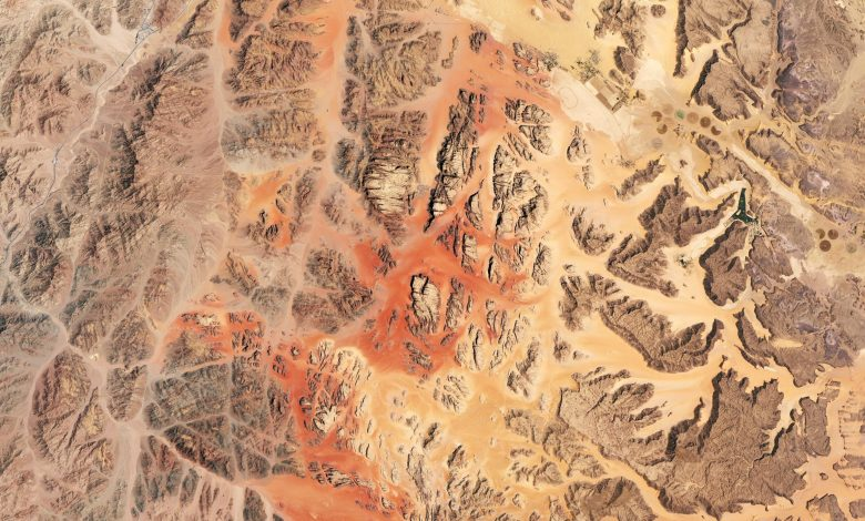 Wadi Rum as a Stand-In for the Red Planet