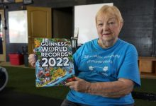 Edith Murway-Traina, aged 100, will be in the upcoming Guinness World Records 2022 after getting earning the title for the oldest competitive powerlifter (female).