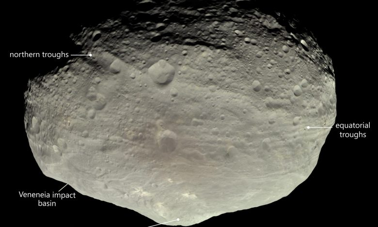 What Created the Mysterious Giant Troughs on Asteroid Vesta? New Theory Proposed