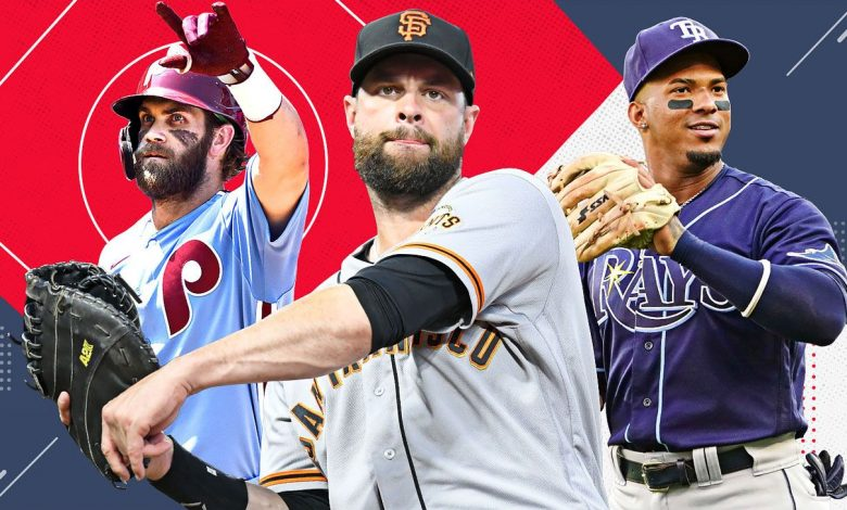 Where all 30 teams stand as the wild-card races heat up