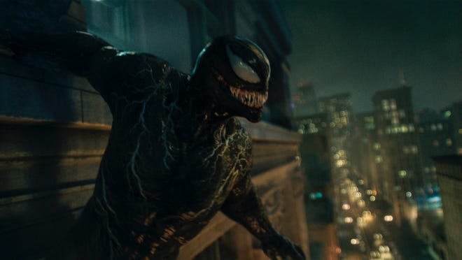 """The toothy, sharp-witted Venom returns in """"Venom: Let There Be Carnage."""""""