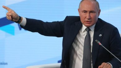 Putin rails against cancel culture and suggests teaching gender fluidity to kids is a 'crime against humanity'