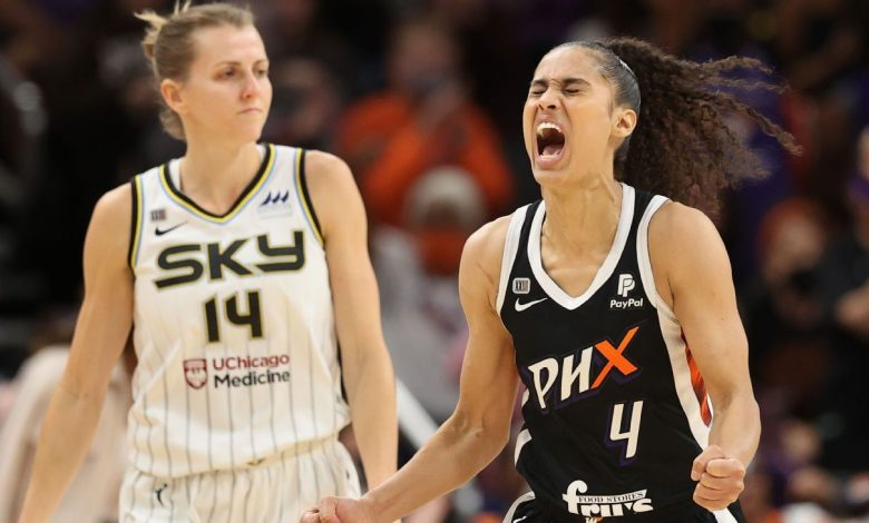 2021 WNBA Finals - Skylar Diggins-Smith seals Game 2 victory as Phoenix Mercury even series with Chicago Sky