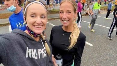 A heart attack, a rescue and a recovery at the Boston Marathon