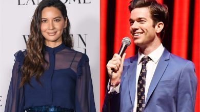 A look back at John Mulaney and Olivia Munn's relationship timeline, including 'Late Night' reveal