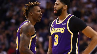Anthony Davis and Dwight Howard got into a brief physical altercation on the Lakers bench during Friday night's game against the Suns.