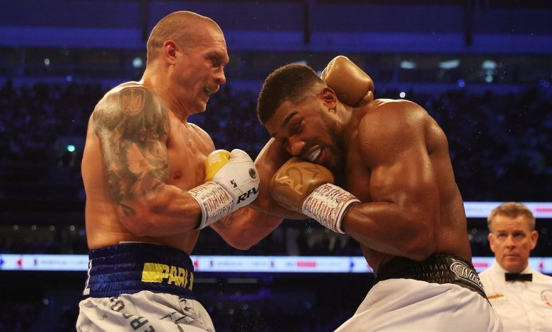 Anthony Joshua exercises right to rematch Oleksandr Usyk for heavyweight championship