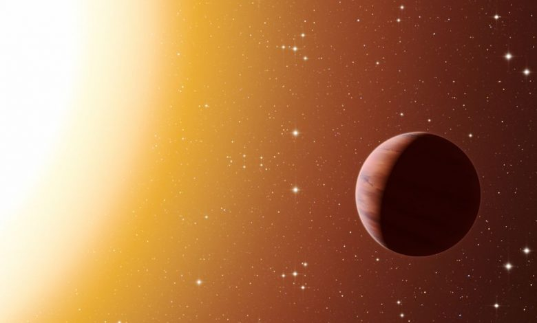Astronomers find curious signal on giant exoplanet where it rains iron
