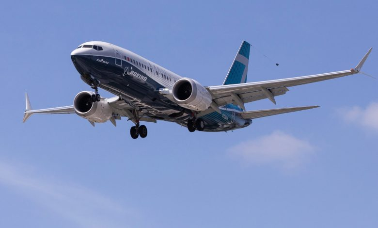 Boeing aircraft orders outpace cancellations for eighth consecutive month