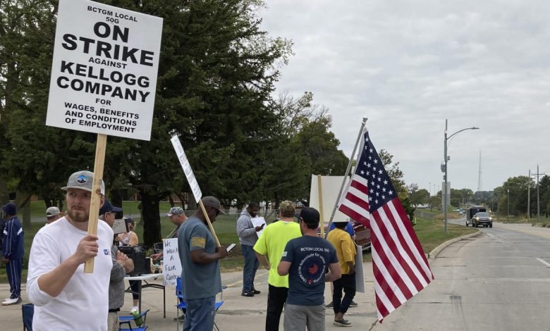 Fed up by pandemic, US food workers launch rare strikes