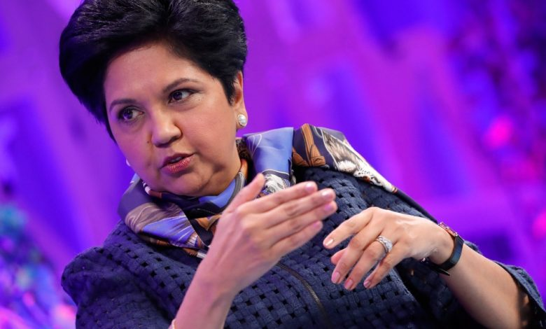 Former PepsiCo CEO Indra Nooyi clarifies her comment about never asking for a raise