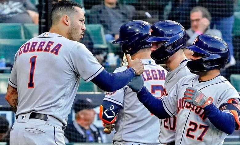 Houston Astros finish off Chicago White Sox in four games to reach fifth consecutive ALCS