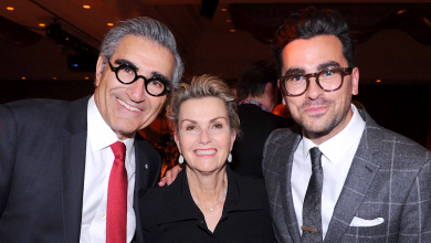 How Dan Levy's parents one-upped him at his sister's wedding