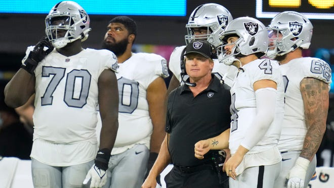 Jon Gruden, Raiders coach, resigns after more damaging emails emerge