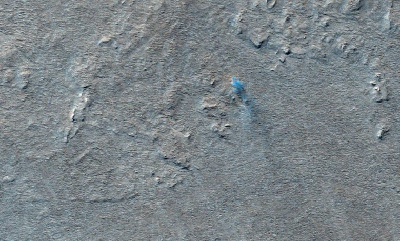 Mars challenge: Find all the dust devils in this view of the red planet