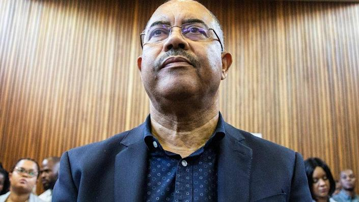 Manuel Chang, former finance minister of Mozambique, appears in court in South Africa - January 2019