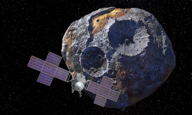 NASA's Psyche Spacecraft To Explore Unique Asteroid for Clues to Early Solar System