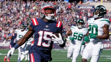 Patriots get tricky with WR Kendrick Bourne throwing TD pass to Nelson Agholor