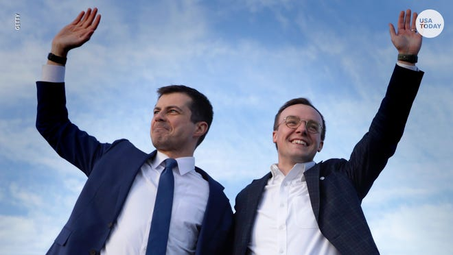 """Pete Buttigieg and husband Chasten are """"overjoyed"""" about becoming dads."""