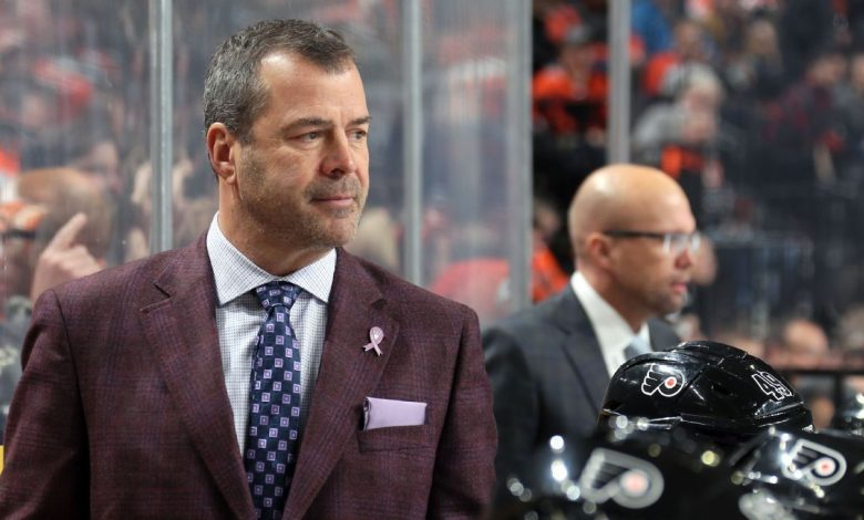 Philadelphia Flyers coach Alain Vigneault disappointed by Robin Lehner's accusations