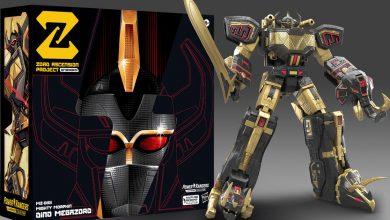Power Rangers' first NFT lets you redeem for a darker-style Megazord