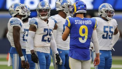 Rams QB Matthew Stafford throws for 3 TDs in win over former Lions team