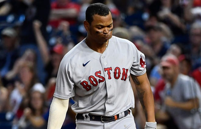 Rafael Devers and the Red Sox close the season against the Nationals in need of a win to clinch a wild-card spot.
