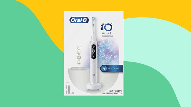 Get the Oral-B iO Series 7 electric toothbrush at Amazon for a deep discount now.