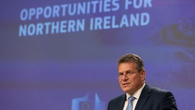 Sefcovic says EU stands united behind Northern Ireland