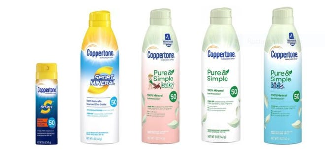 Coppertone is recalling select sunscreen sprays.